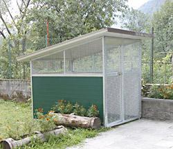 Cittadini snc box cani da esterno for Cancelletto per cani da esterno